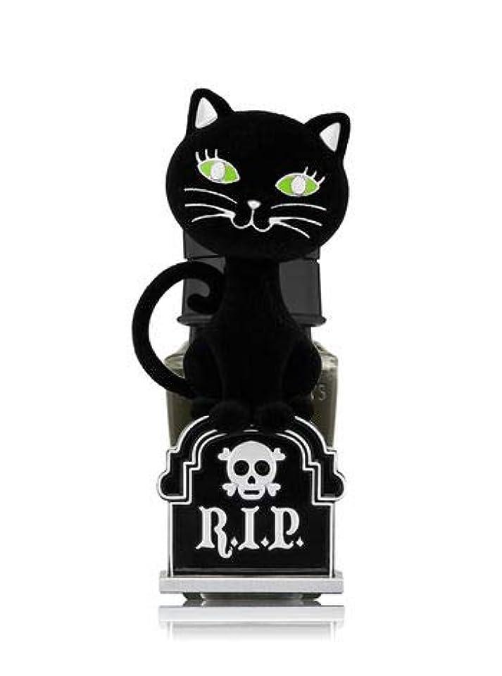 乱気流牽引したい【Bath&Body Works/バス&ボディワークス】 ルームフレグランス プラグインスターター (本体のみ) ハロウィン 黒猫 ナイトライト Wallflowers Fragrance Plug Halloween...