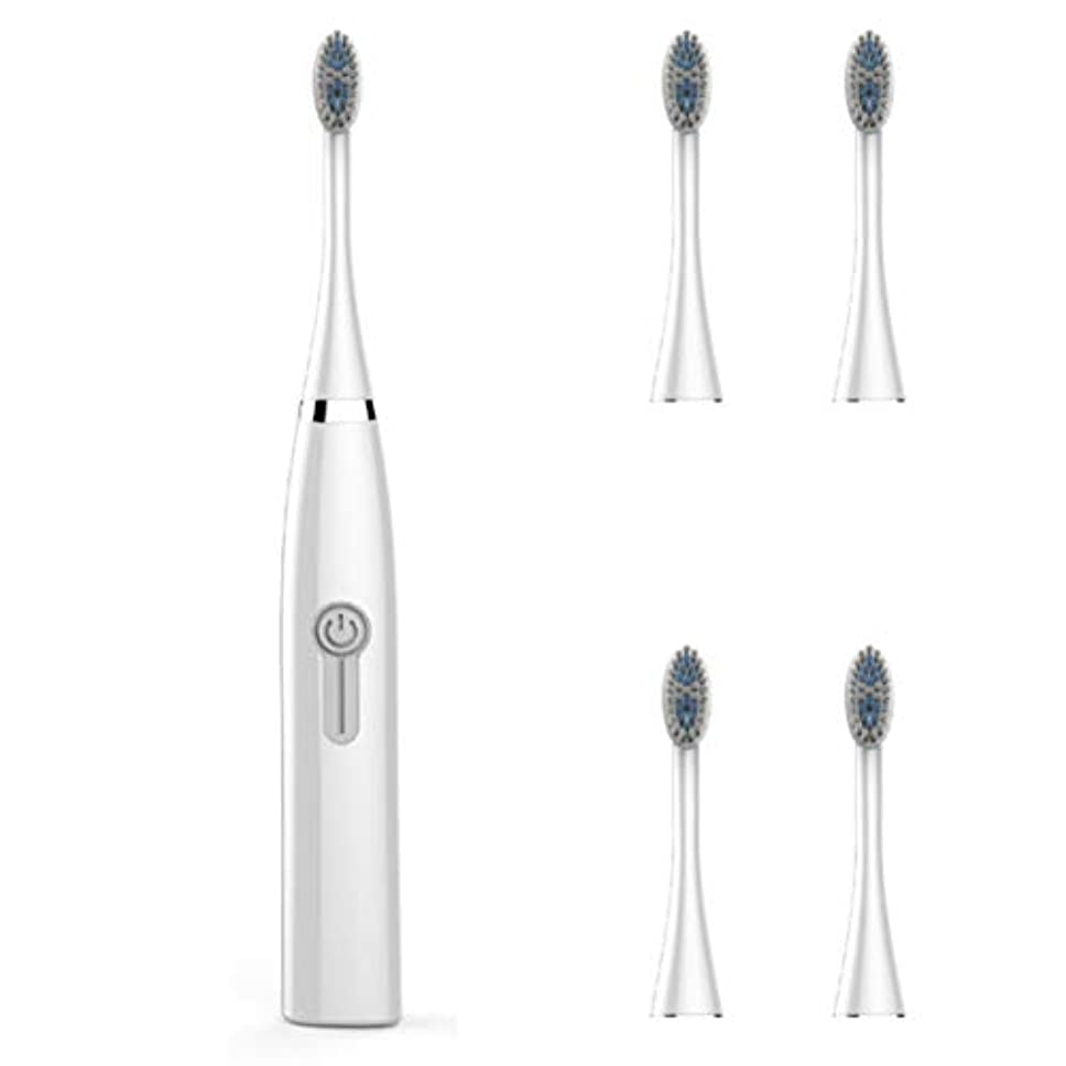 同様の耳血まみれIntercorey Electric Toothbrush Male And Female Adult Household Non-Rechargeable Soft Hair Automatic Waterproof...