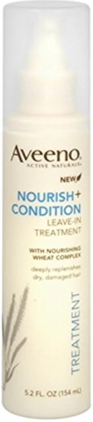 喉が渇いたぼかす調和Aveeno Nourish+ Condition Treatment Spray 150g (並行輸入品)