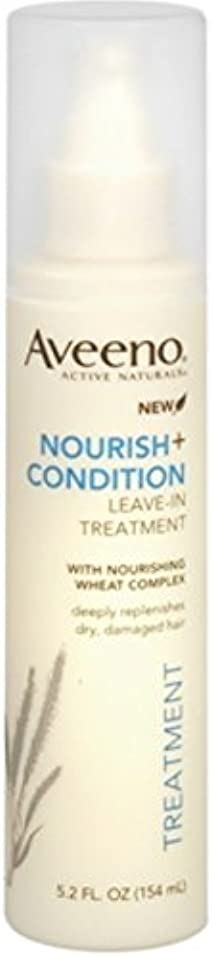 毒性地獄接続されたAveeno Nourish+ Condition Treatment Spray 150g (並行輸入品)