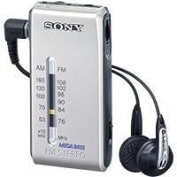 SONY FMステレオ/AMポケッタブルラジオ シルバー SRF-S86/S