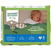 Seventh Generation Overnight Diapers - Size 6 - 17 ct by Seventh Generation