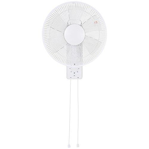 壁掛メカ式扇風機 ひも式 OTK-CW318T-W