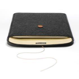 ハンドメイドフェルトケースDX MacBook Air 13インチ用 ブラック