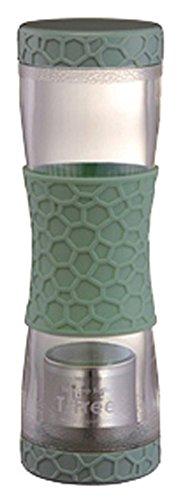 マックマー Twin Cap Bottle ティーフリー グリーン 500ml AA0026