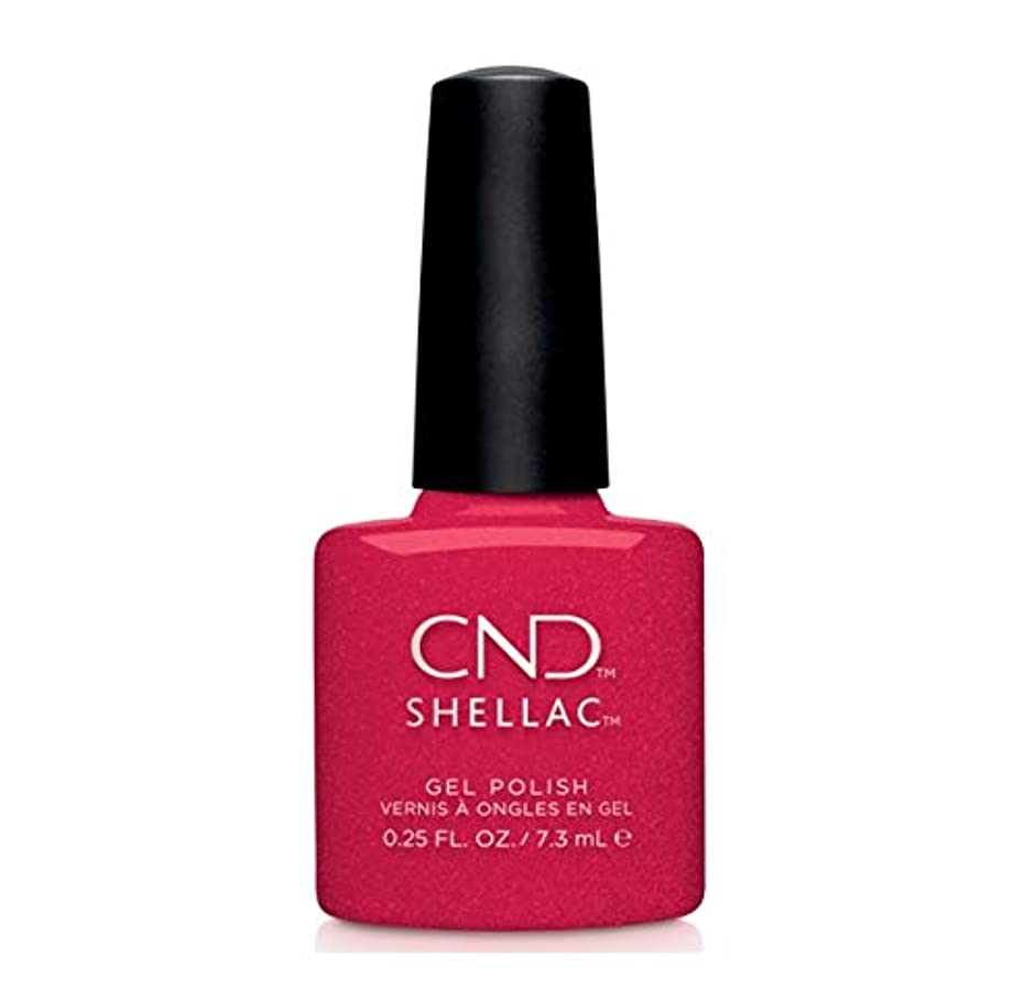 微妙ダンスプレゼンテーションCND Shellac - Night Moves Collection - Kiss of Fire - 0.25 oz / 7.3 oz