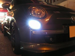 TEZZO BASE推奨LEDポジションバルブ for Fiat500 Series