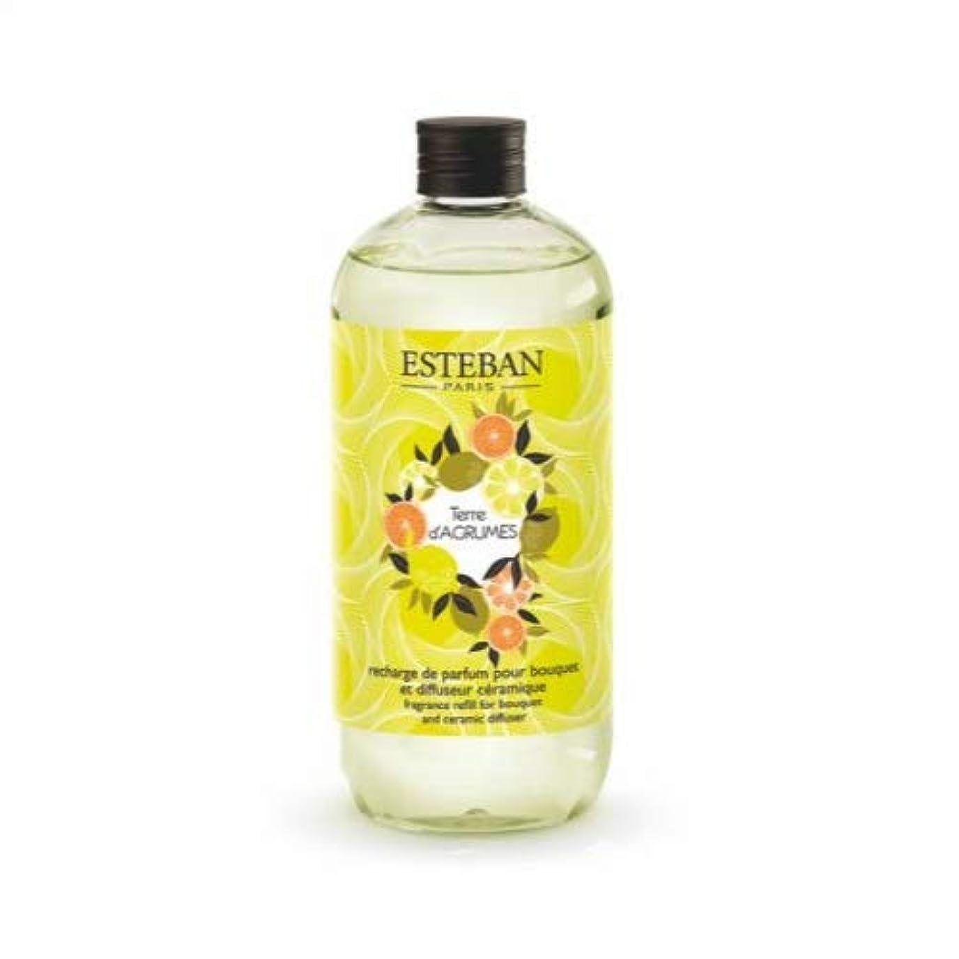 バター描く個人的にエステバン(ESTEBAN) フレグランスリフィル 詰替え用 500ml