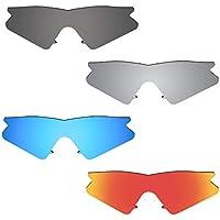 4 Pair Polarized Lenses for Oakley M Frame Sweep Sunglasses
