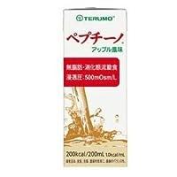 【ケース販売】テルモ ペプチーノ アップル風味 200ml×24本