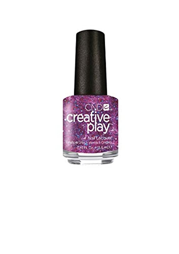 コミュニケーションシンプルな煙CND Creative Play Lacquer - Positively Plumsy - 0.46oz / 13.6ml