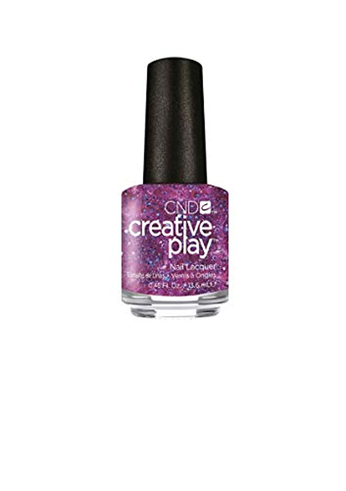ガラス周辺甘くするCND Creative Play Lacquer - Positively Plumsy - 0.46oz / 13.6ml