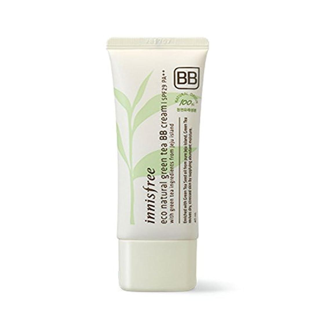 デッキ違反カテゴリーイニスフリーエコナチュラルグリーンティーBBクリームSPF29 PA ++ Innisfree Eco Natural Green Tea BB Cream SPF29 PA++[海外直送品][並行輸入品] (#2. Natural...