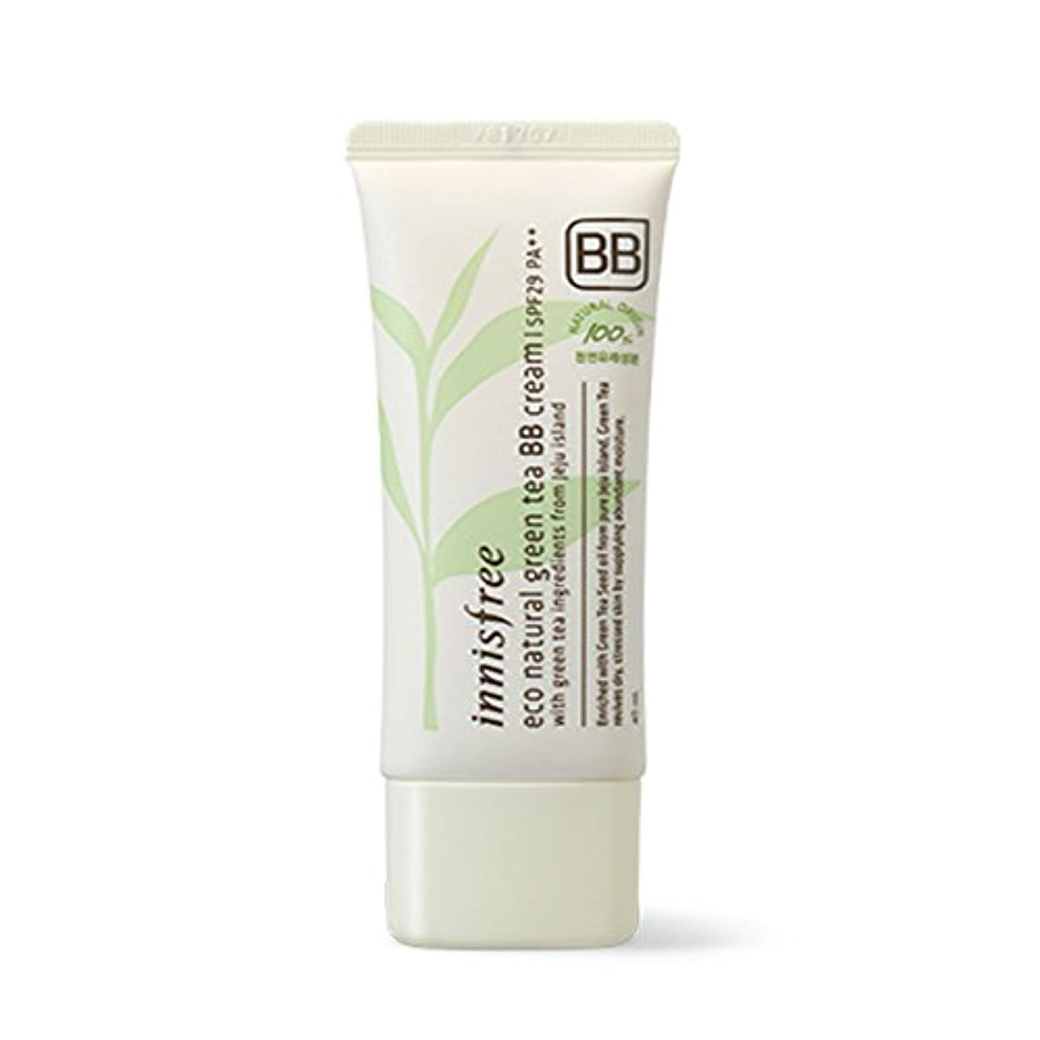 一般的な移行大胆イニスフリーエコナチュラルグリーンティーBBクリームSPF29 PA ++ Innisfree Eco Natural Green Tea BB Cream SPF29 PA++[海外直送品][並行輸入品] (#2. Natural...