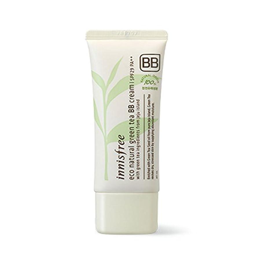 多年生スラダム貝殻イニスフリーエコナチュラルグリーンティーBBクリームSPF29 PA ++ Innisfree Eco Natural Green Tea BB Cream SPF29 PA++[海外直送品][並行輸入品] (#1. Bright...