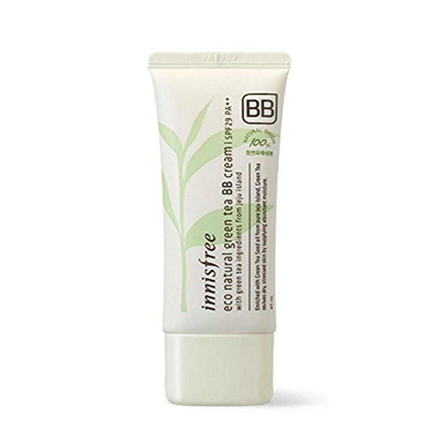 話月面混合イニスフリーエコナチュラルグリーンティーBBクリームSPF29 PA ++ Innisfree Eco Natural Green Tea BB Cream SPF29 PA++[海外直送品][並行輸入品] (#2. Natural...