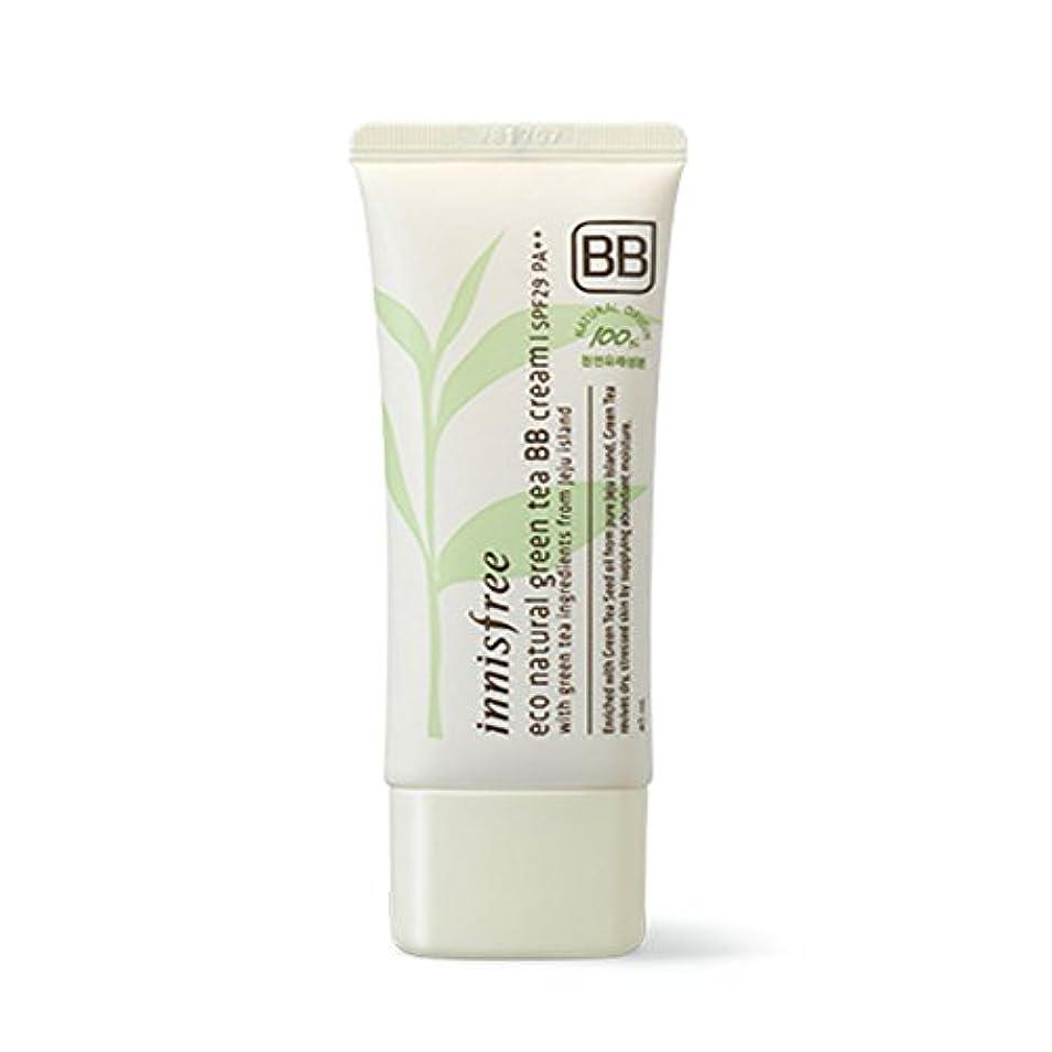 起きろしっかり何よりもイニスフリーエコナチュラルグリーンティーBBクリームSPF29 PA ++ Innisfree Eco Natural Green Tea BB Cream SPF29 PA++[海外直送品][並行輸入品] (#1. Bright...