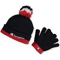Champion Boys 2-Pc. Beanie Hat & Gloves Set One Size