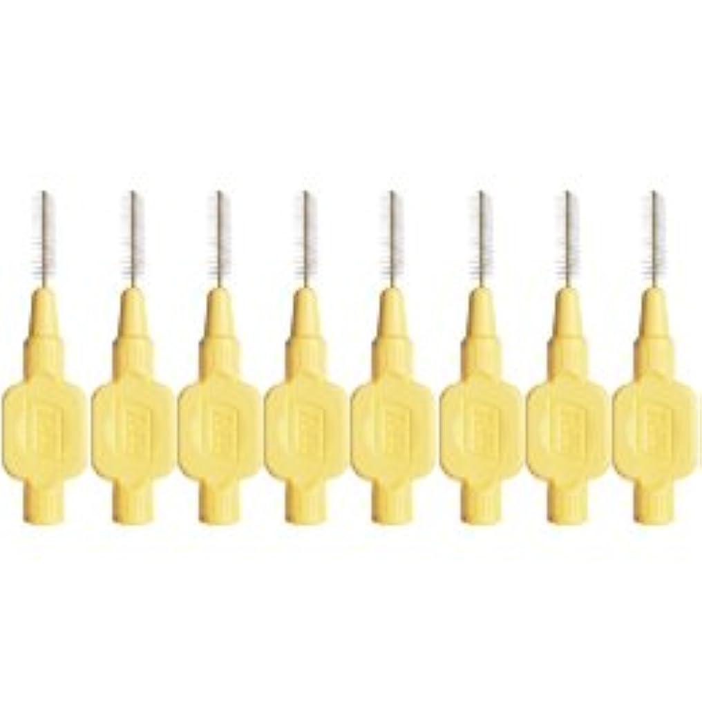 汚れる通路土曜日テペ エクストラソフト 歯間ブラシ 8本入 イエロー 0.7mm