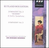 Boughton;Symphonies 2 & 3
