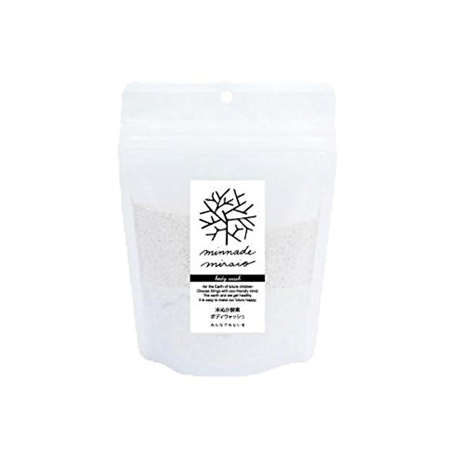 温室委員長民間人みんなでみらいを 100%無添加 米ぬか酵素ボディウォッシュ 詰替用 130g×3袋