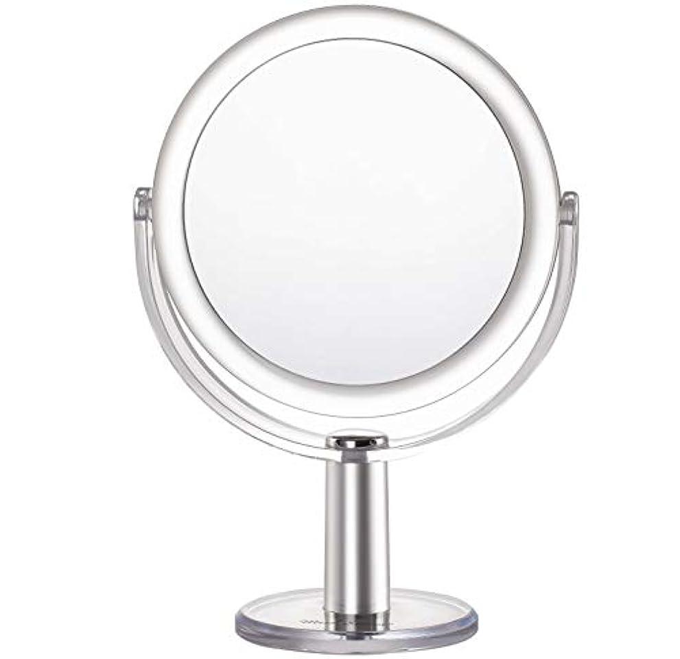 申請者ブリーフケース大胆不敵Miss Sweet 5倍拡大鏡付き スタンドミラー 卓上化粧鏡 両面鏡 1倍*5倍 (Color 2 (1倍*5倍))