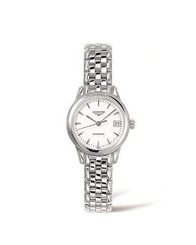 [ロンジン] 腕時計 フラッグシップ 自動巻き L4.274.4.12.6 レディース 正規輸入品