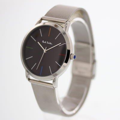[Paul Smith]ポールスミス 腕時計 ウォッチ メッシュベルト シンプル ビジネス レトロ クラシック メンズ [並行輸入品]