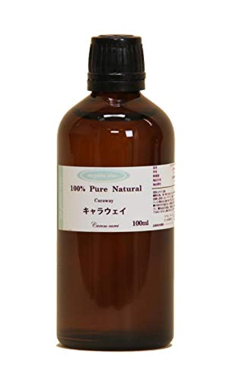 余裕があるカテゴリー祖母キャラウェイ  100ml 100%天然アロマエッセンシャルオイル(精油)