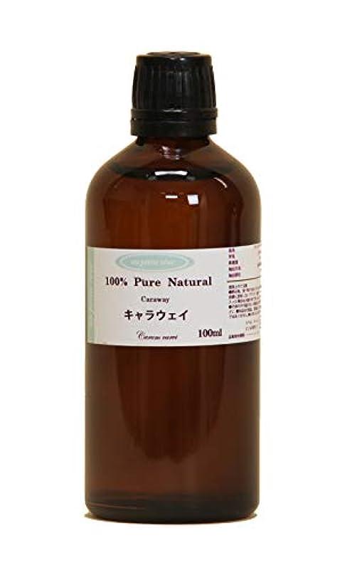 うがい薬縁炎上キャラウェイ  100ml 100%天然アロマエッセンシャルオイル(精油)