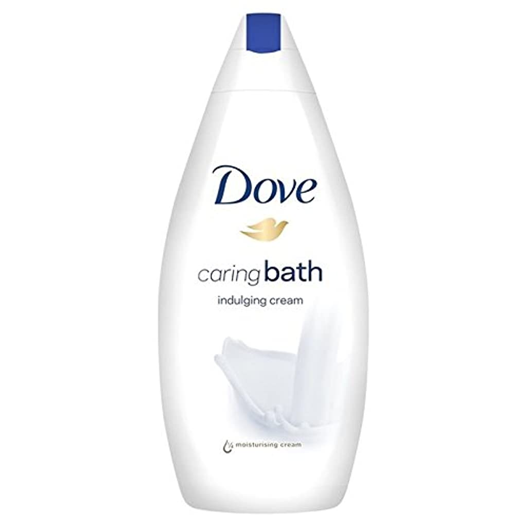 フェリー誰も樫の木Dove Indulging Caring Bath 500ml - 思いやりのバス500ミリリットルをふける鳩 [並行輸入品]