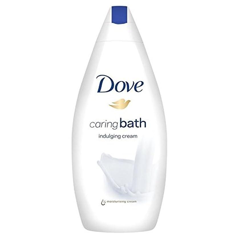 カートレタッチ代表するDove Indulging Caring Bath 500ml (Pack of 6) - 思いやりのバス500ミリリットルをふける鳩 x6 [並行輸入品]