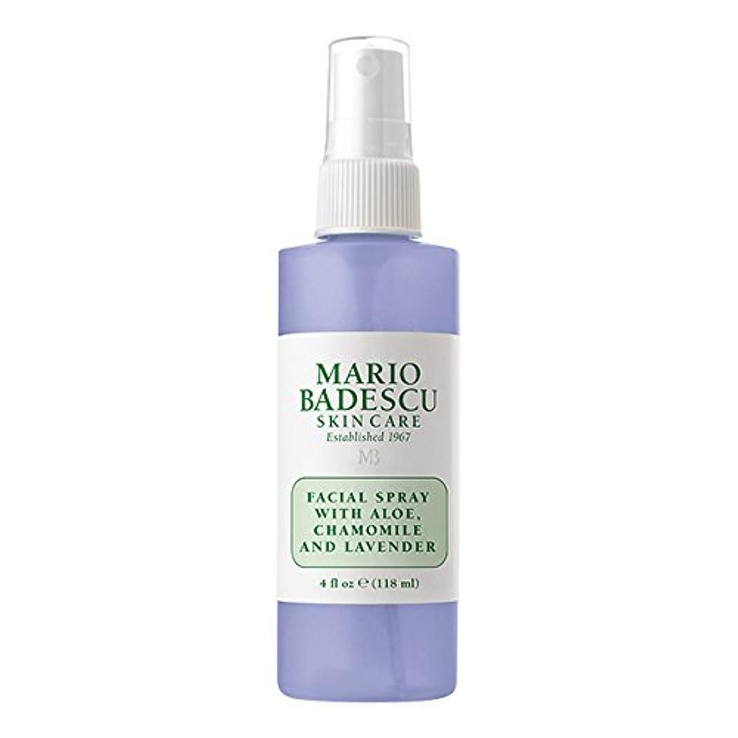 クラウド障害者威信マリオ バデスク Facial Spray With Aloe, Chamomile & Lavender 118ml/4oz並行輸入品