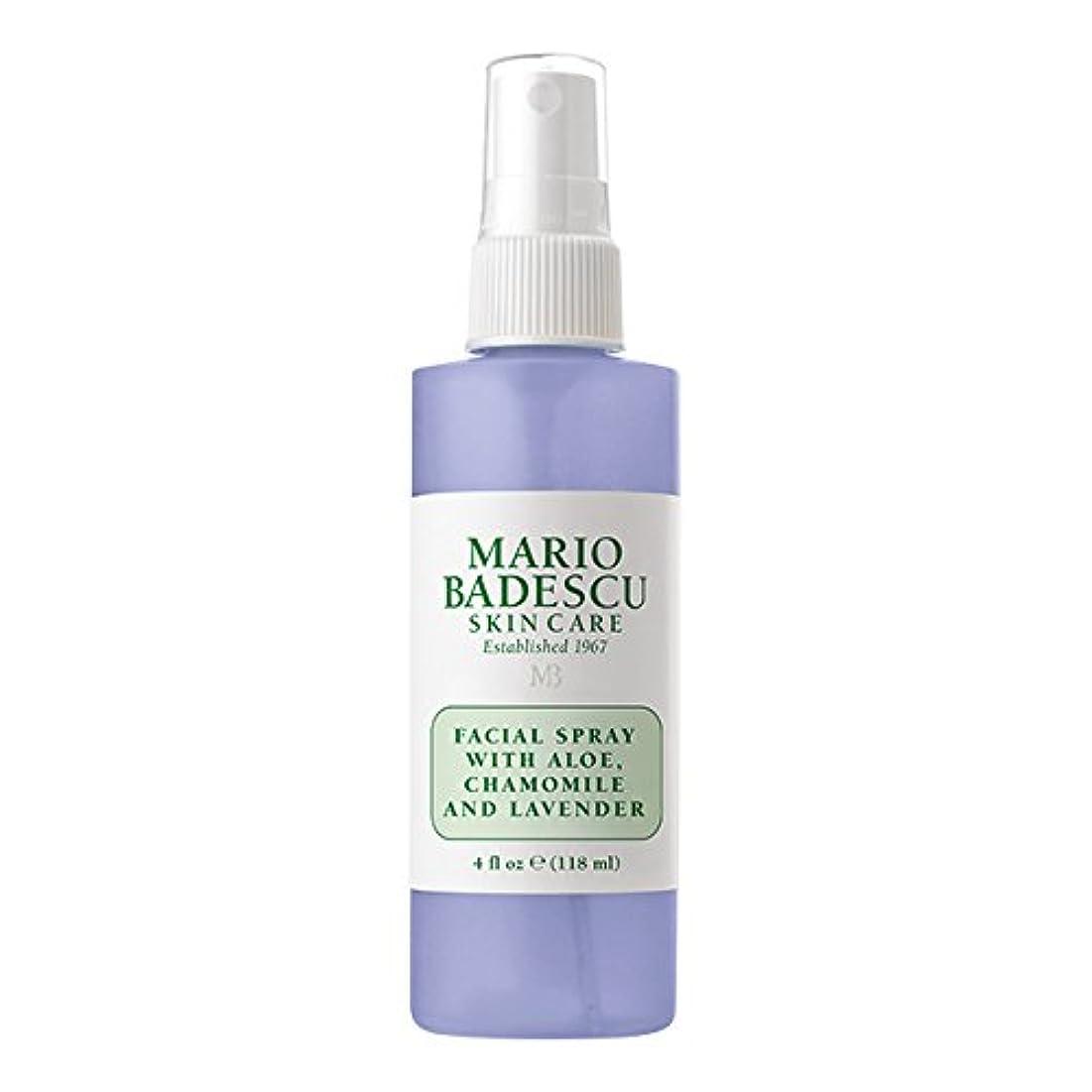 ある罰するエンジニアマリオ バデスク Facial Spray With Aloe, Chamomile & Lavender 118ml/4oz並行輸入品