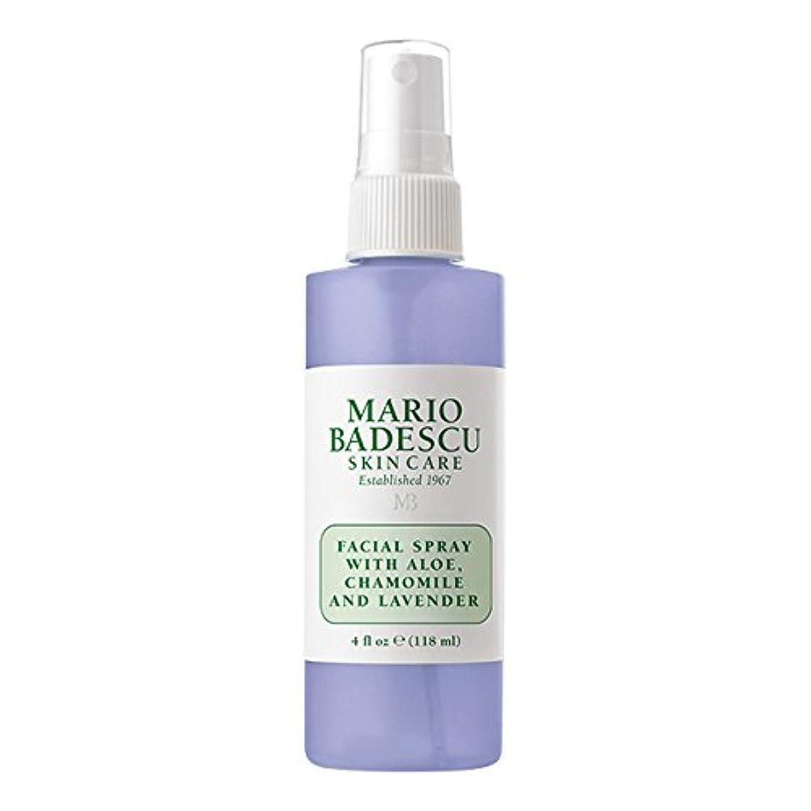 議会枠推測するマリオ バデスク Facial Spray With Aloe, Chamomile & Lavender 118ml/4oz並行輸入品