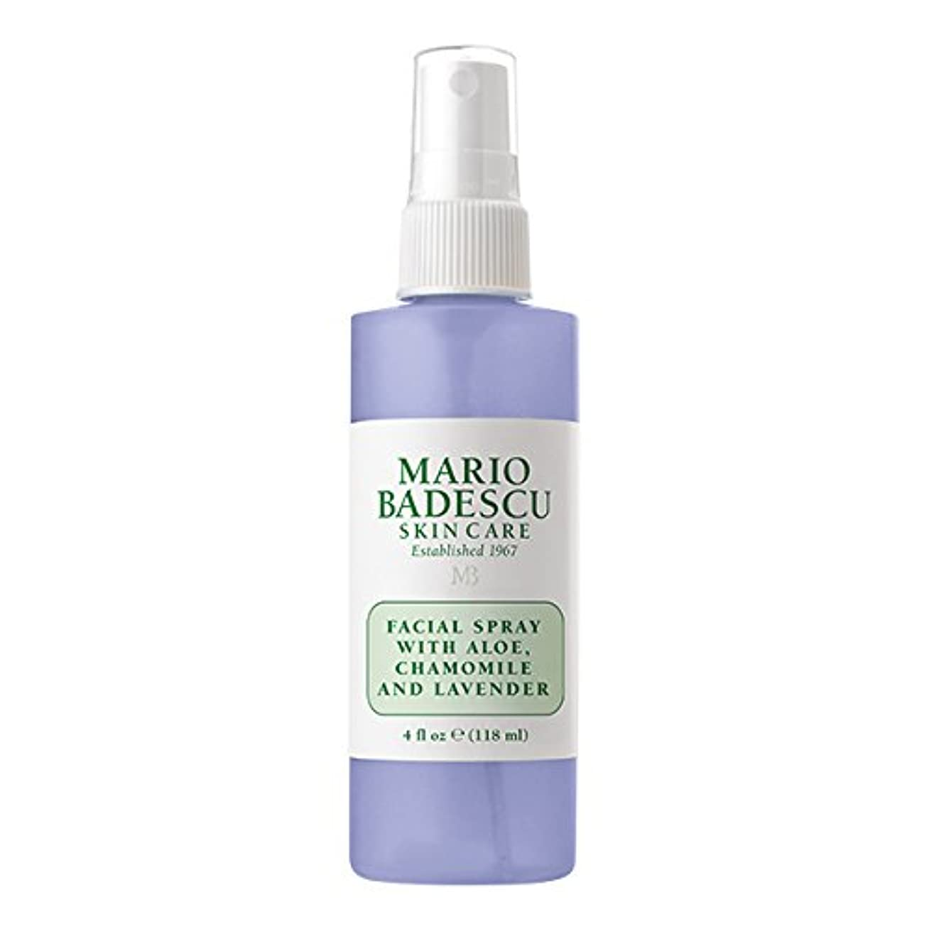 マリオ バデスク Facial Spray With Aloe, Chamomile & Lavender 118ml/4oz並行輸入品