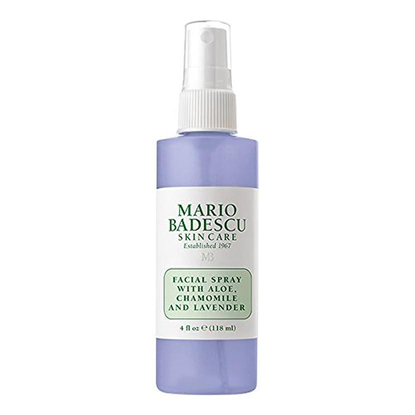 後継モネまたはマリオ バデスク Facial Spray With Aloe, Chamomile & Lavender 118ml/4oz並行輸入品