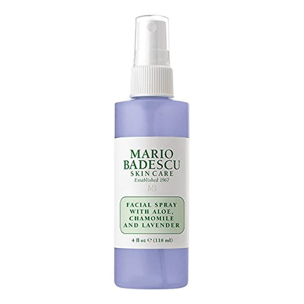 マリオ バデスク Facial Spray With Aloe, Chamomile & Lavender 118ml/4oz並行輸入品