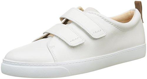 [クラークス] スニーカー グローブデイジー Glove Daisy 抗菌 防臭 高機能インソール 疲れにくい ホワイトコンビレザー UK 5.5(24.5 cm)