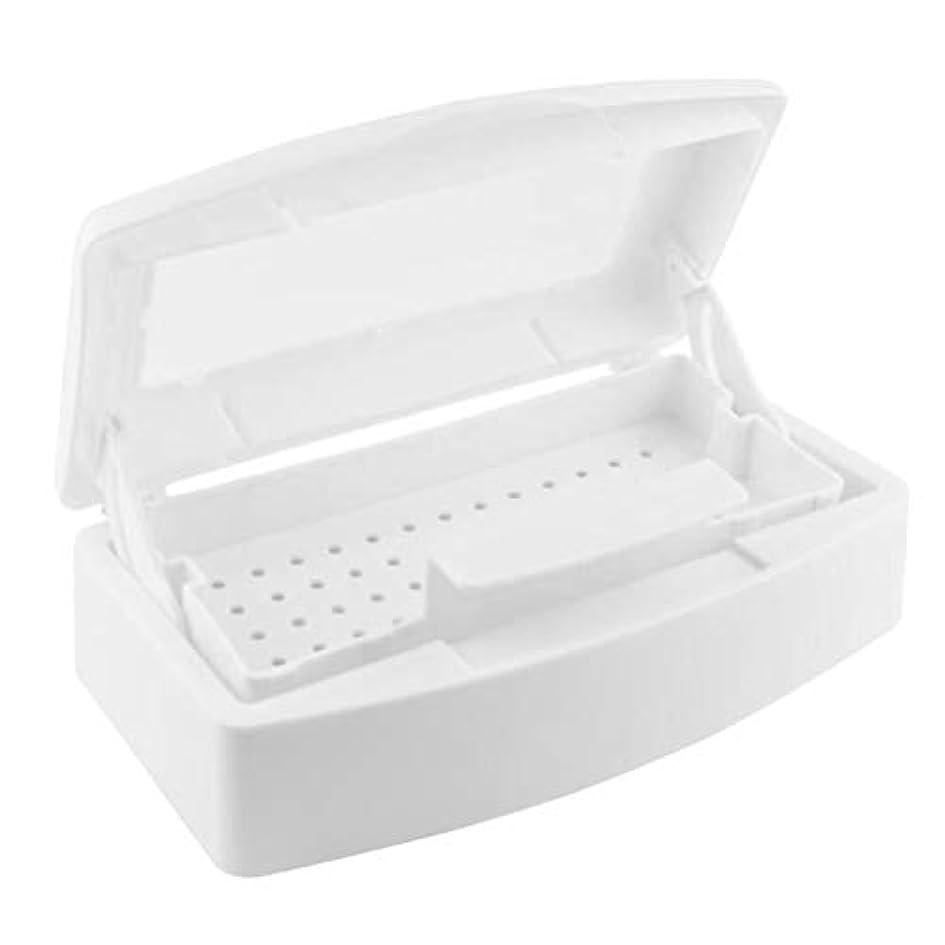 採用本体試みBeaupretty ネイルツールクリーニングボックス清潔な殺菌ボックスまつげマニキュア道具透明なカバーホームセンター用
