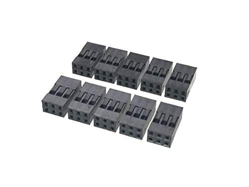 厚い分解するフライカイト2.54mmピッチ ピンヘッダ ピンフレーム 接続用ケーブル ジャンパーワイヤー 40本束 1本