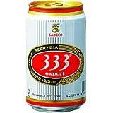 333(バーバーバービール) 缶 [ ピルスナー ベトナム 330mlx24缶 ]