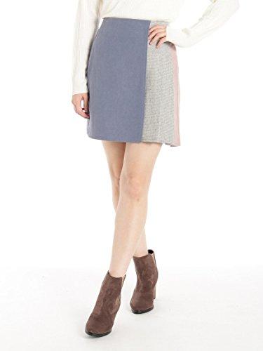 CECIL McBEE(セシルマクビー)配色ミニスカート