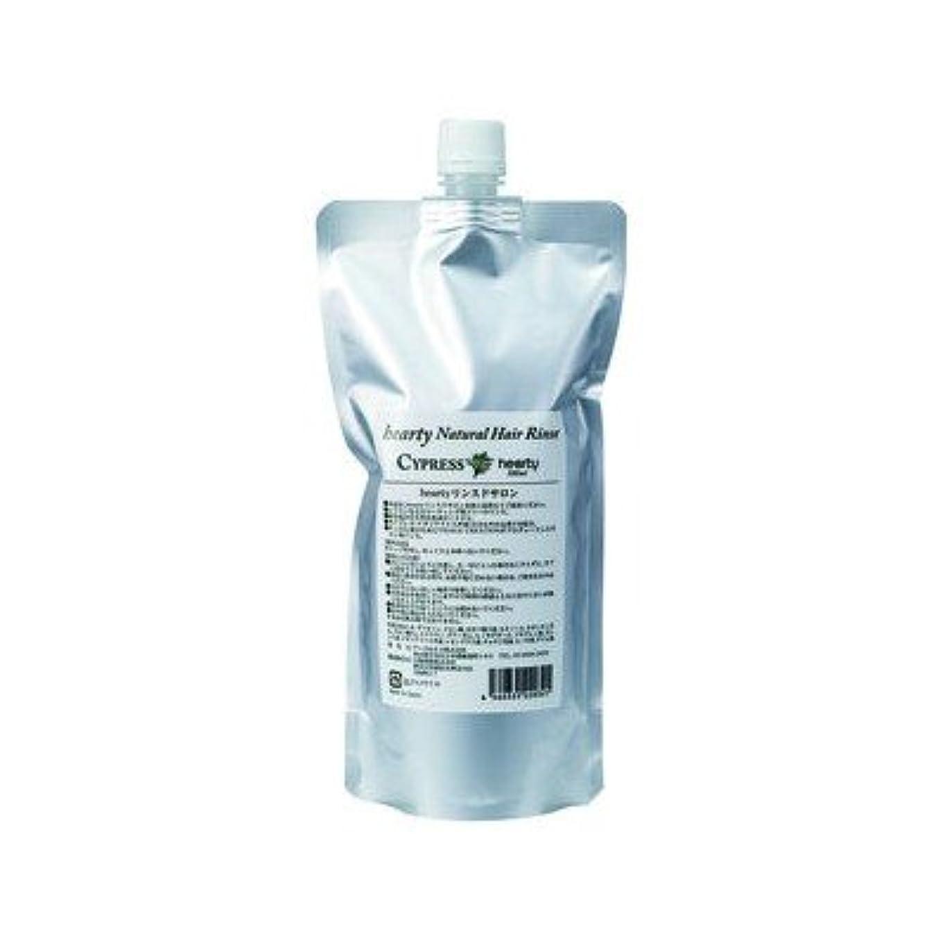 敬礼レンチ香りPrakriti リンスドサロン(詰替用) 500ml ※heartyリンスから変更