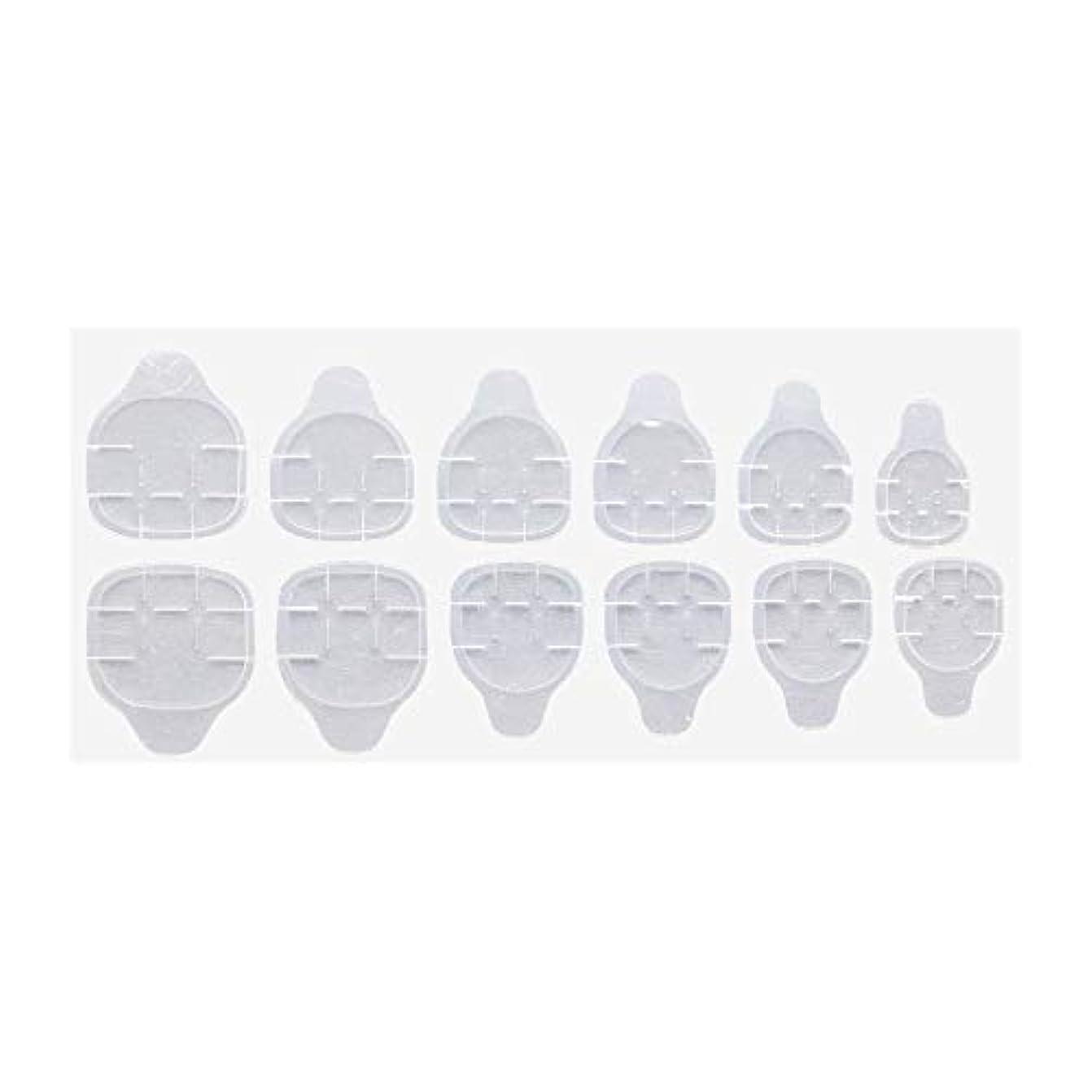 シャンプー工夫する破滅グミ状両面テープ 付け爪 ネイルチップ 練習用 ネイルツール ジェルネイル ネイルアート
