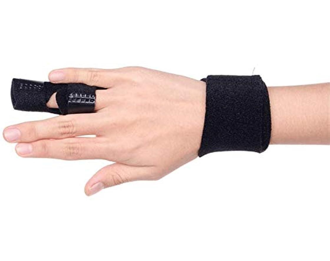 墓地霧深いラッドヤードキップリング調節可能な定着ベルトリリースし、痛みを軽減するFingerboardseparator - 中指、薬指、人差し指ブレースのためのフィンガースプリント-Fingerインソールフィンガースプリント