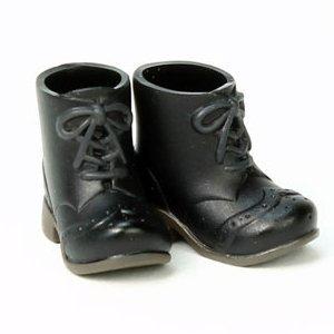オビツボディ 11cmボディ用ショートブーツ 黒...