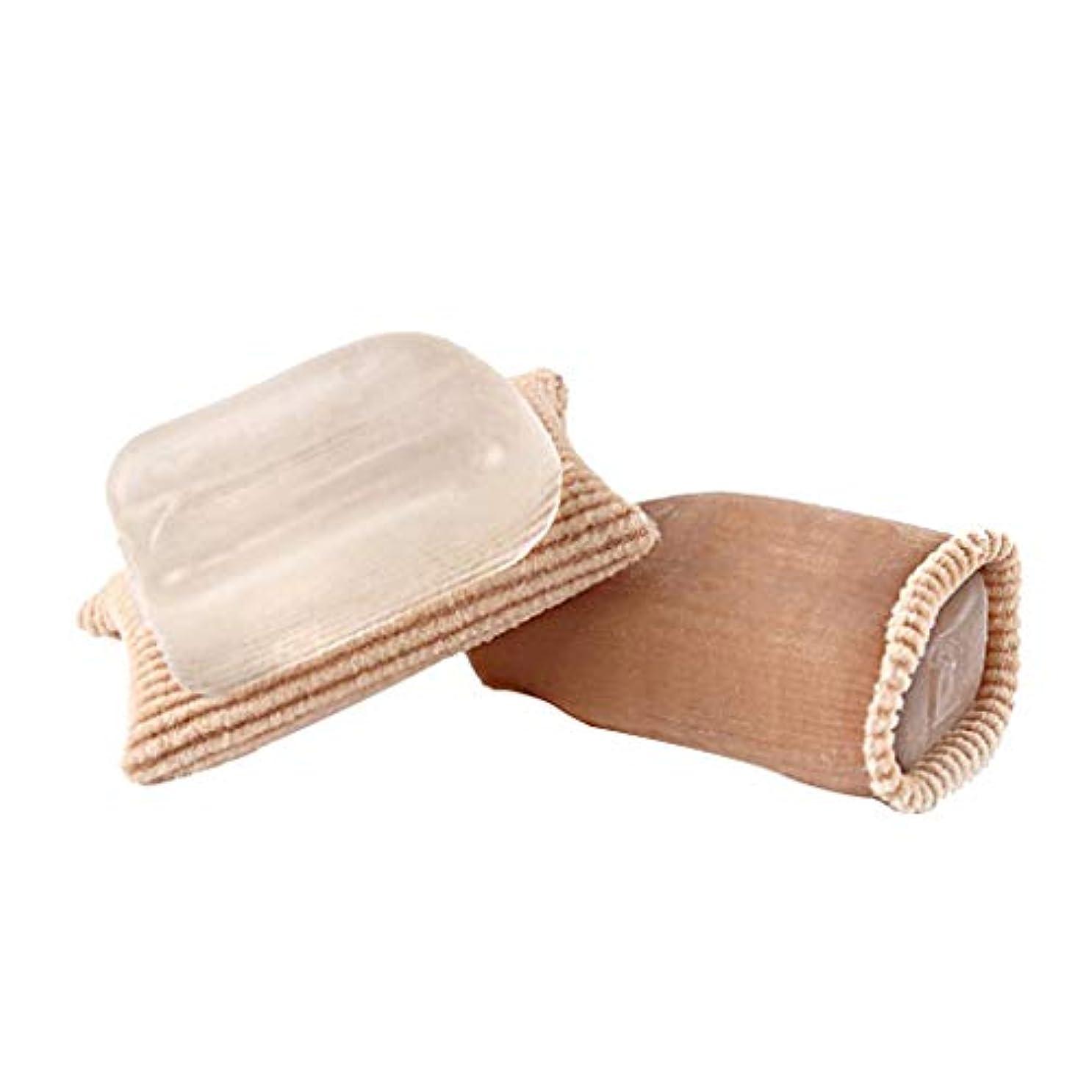 粘性のおとうさん結果としてBaoblaze 1ペア 足指保護キャップ つま先プロテクター つま先 キャップ つま先セパレーター 再利用可能