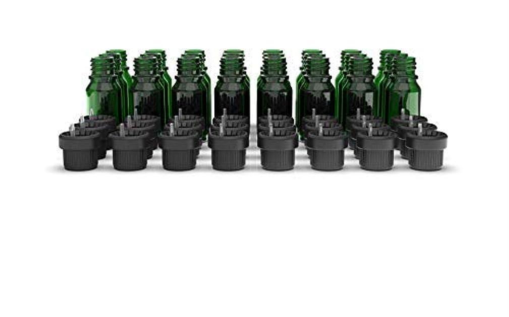 よく話される無法者指紋Two Scents Glass Bottles for Essential Oils - 10 mL Refillable Empty Bottle with Orifice Reducer Dropper and Cap...