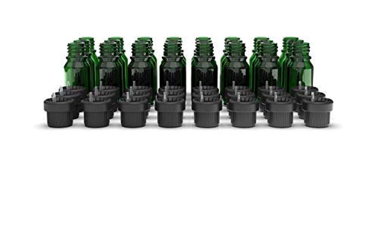 幸運な調和までTwo Scents Glass Bottles for Essential Oils - 10 mL Refillable Empty Bottle with Orifice Reducer Dropper and Cap...